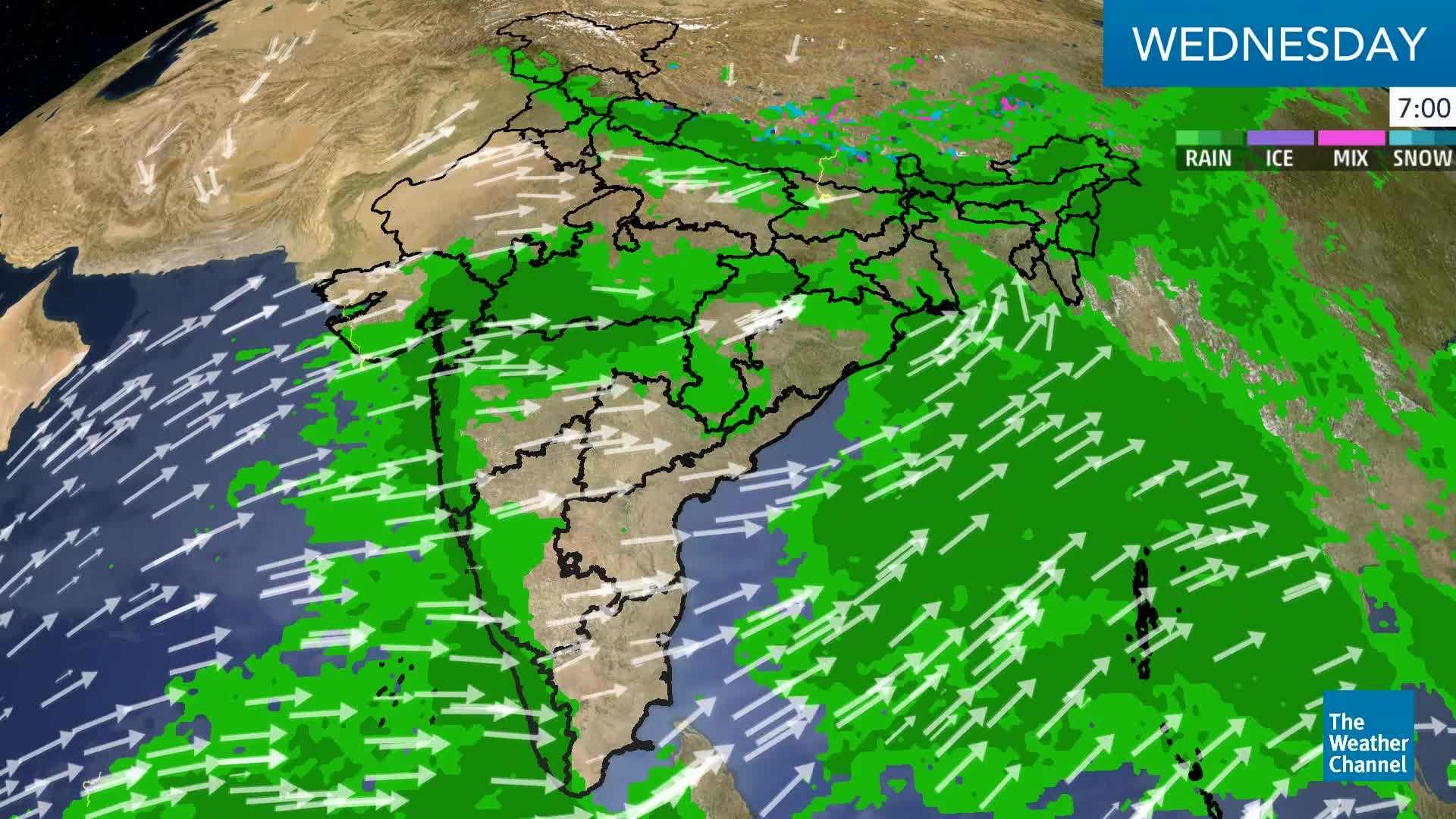 Severe Weather Alert For Western Madhya Pradesh Today And Tomorrow