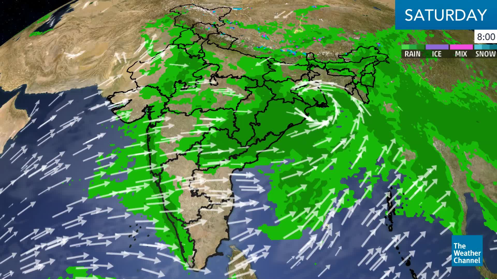 Huge Flood Risks Across UP, Central And East India