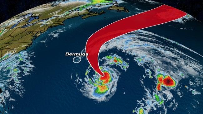 Epsilon Now a Major Hurricane