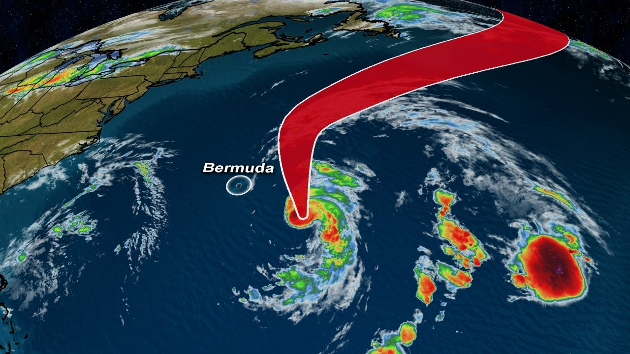 Hurricane Epsilon Tracking East of Bermuda; Tropical Storm Warning Issued