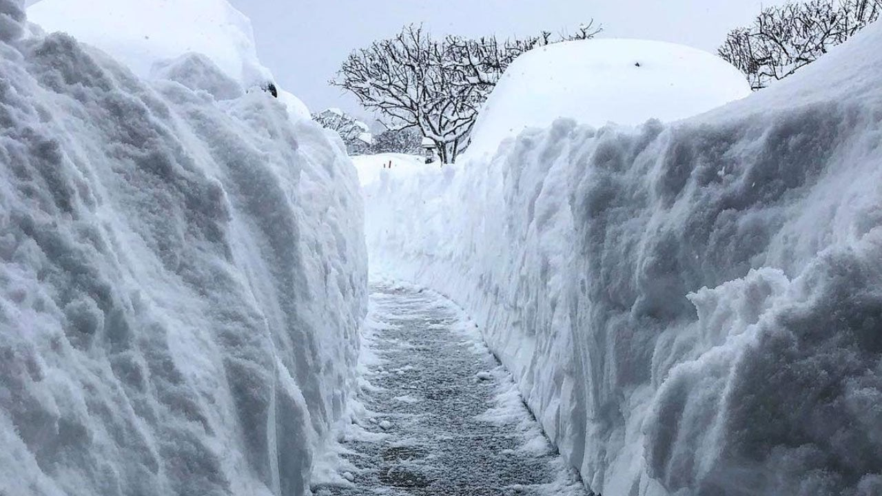 erie  pennsylvania  has picked up almost 7 feet of snow