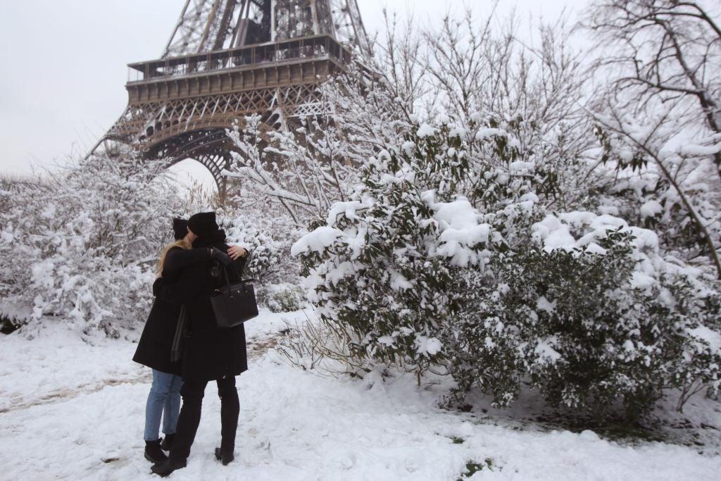 Días de amor y alegría en París