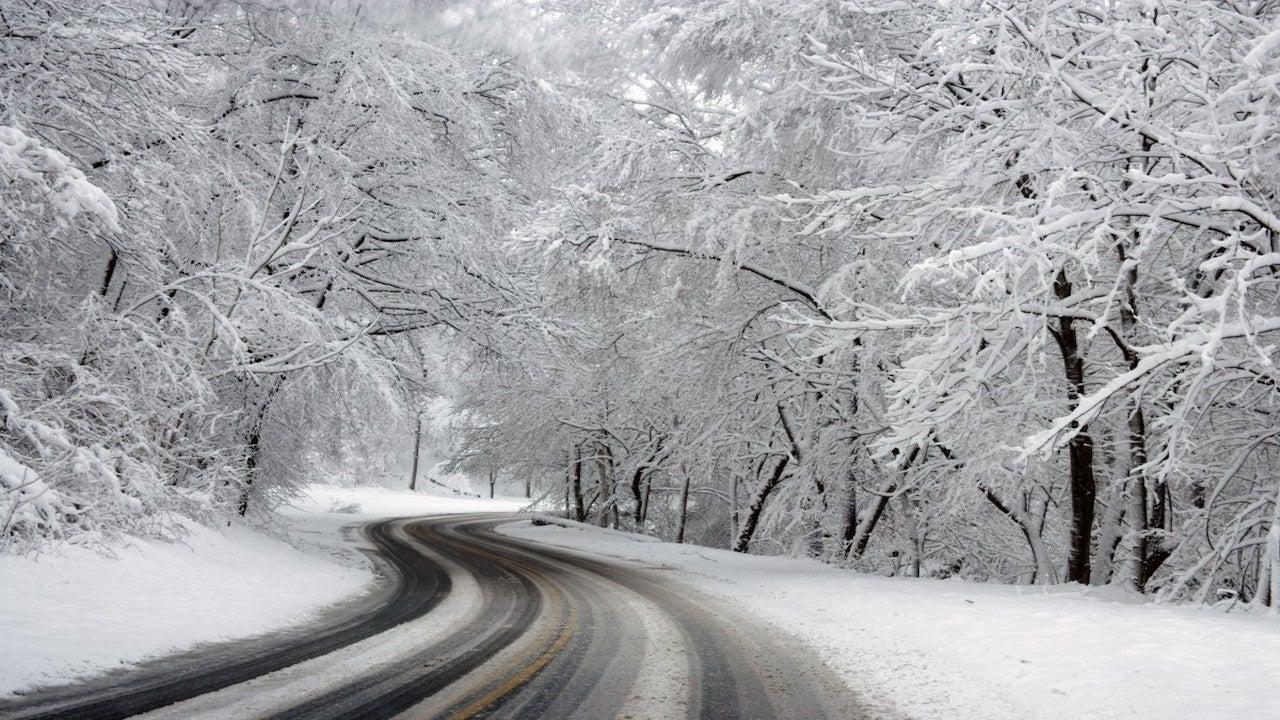 Temporal de nieve en el centro y sureste de España
