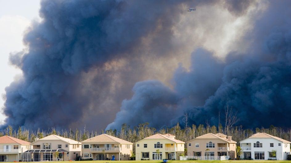 Incendios forestales y urbanizaciones: ¿cuándo hay que preocuparse?