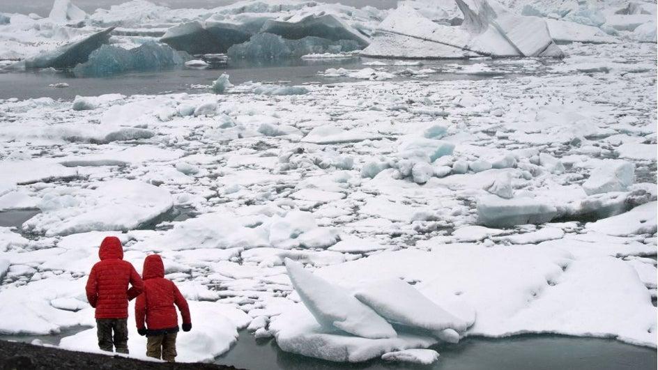 El nacimiento de un iceberg, en 90 segundos