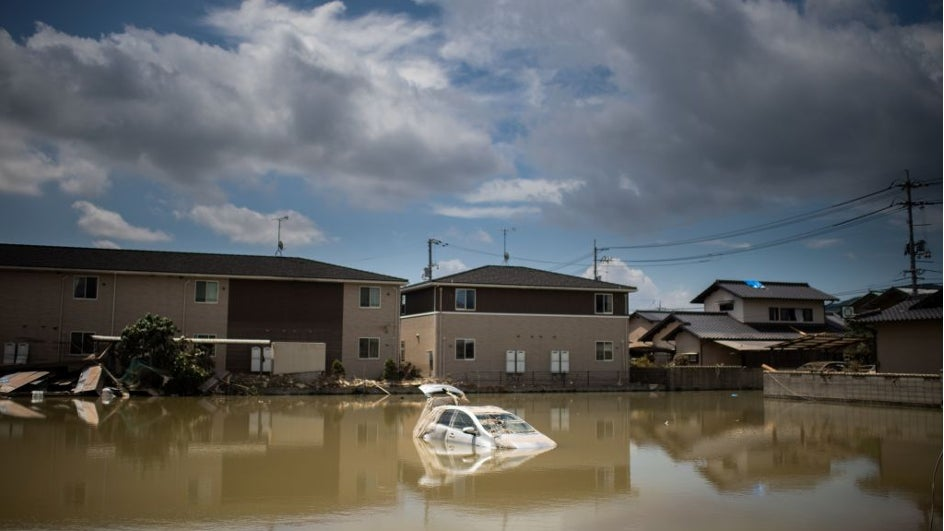 Lluvia y viento provocan ya 179 muertes en Japón