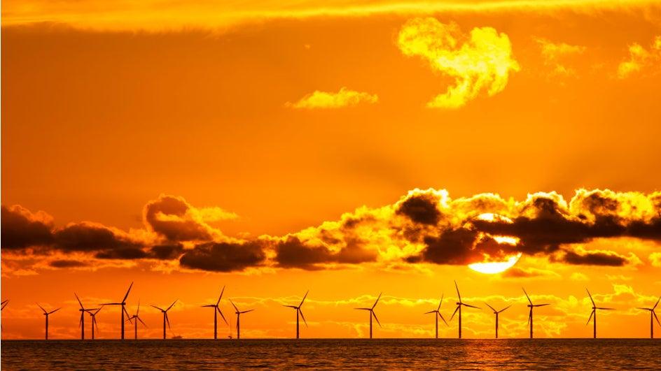 Así es el mayor parque eólico marino del mundo