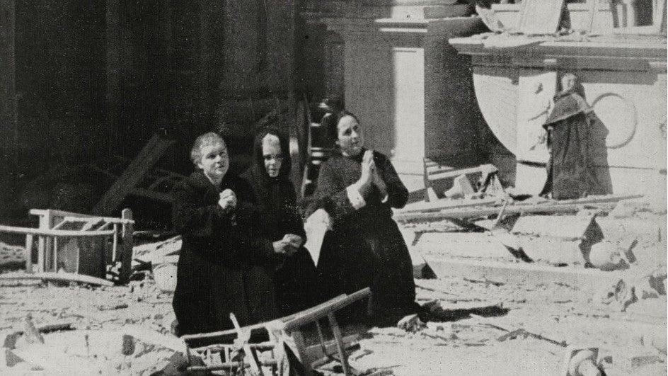 Huella en la atmósfera de las bombas de la II Guerra Mundial