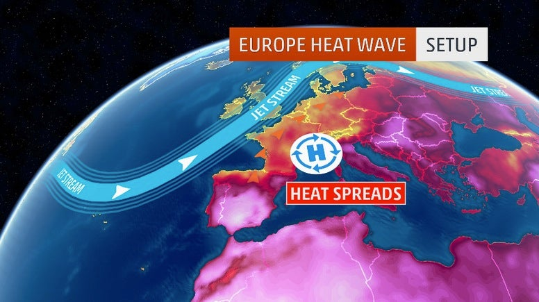 Heat Records Shattered in Germany, France, The Netherlands in June/July 2015 Europe Heat Wave