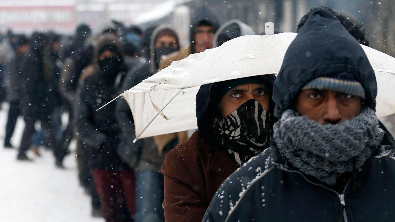 Europe Cold, Snow Kill Dozens