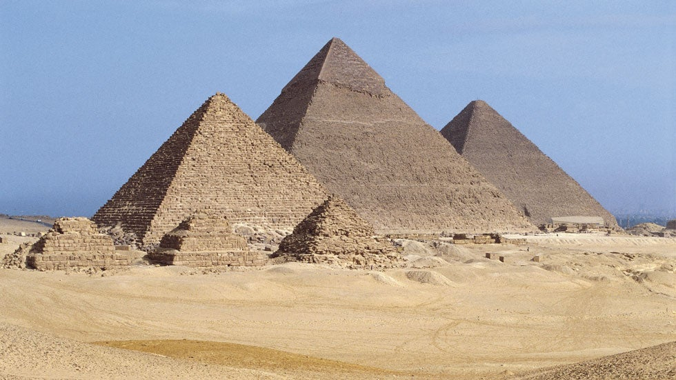the great pyramids of giza newspaper Egypt's great pyramid of giza—one of the wonders of the ancient world, and a dazzling feat of architectural genius—contains a hidden void at least a hundred feet long, scientists announced.