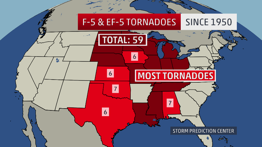 F5 Ef5 Tornadoes What You Need To Know About Nature S Most Violent Storms The Weather Channel
