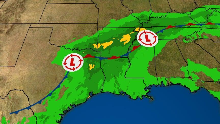 Heavy Rainfall, Flash Flooding Expected in Texas, Oklahoma and Arkansas Through Saturday