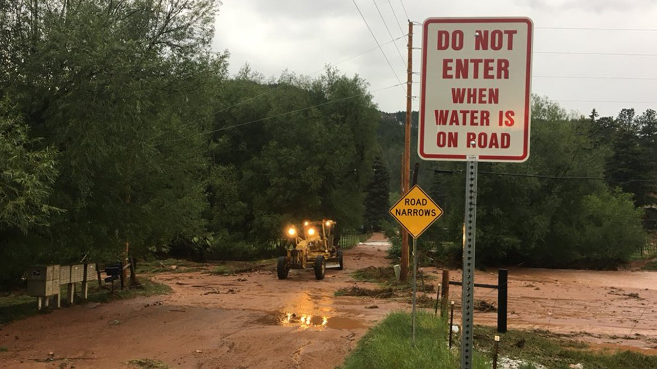 Heavy Rain Triggers Flash Flooding, Mudslides Along