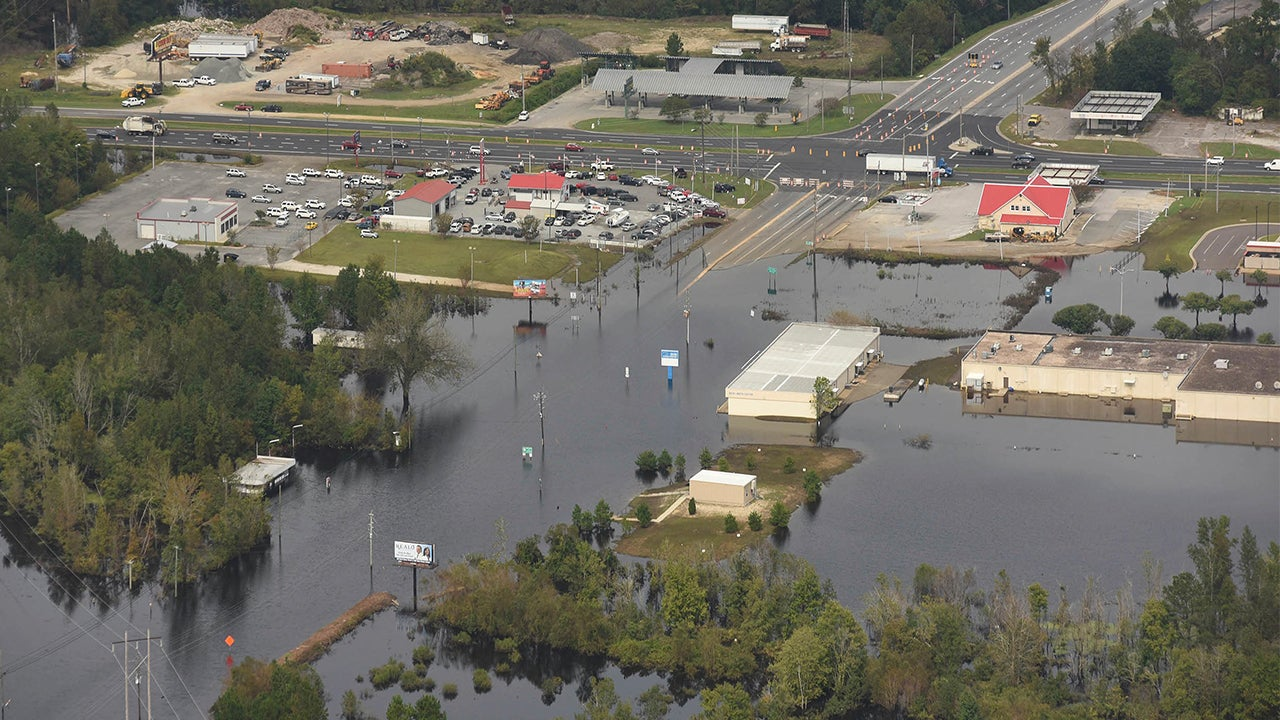 florence aftermath  flooding continues to inundate