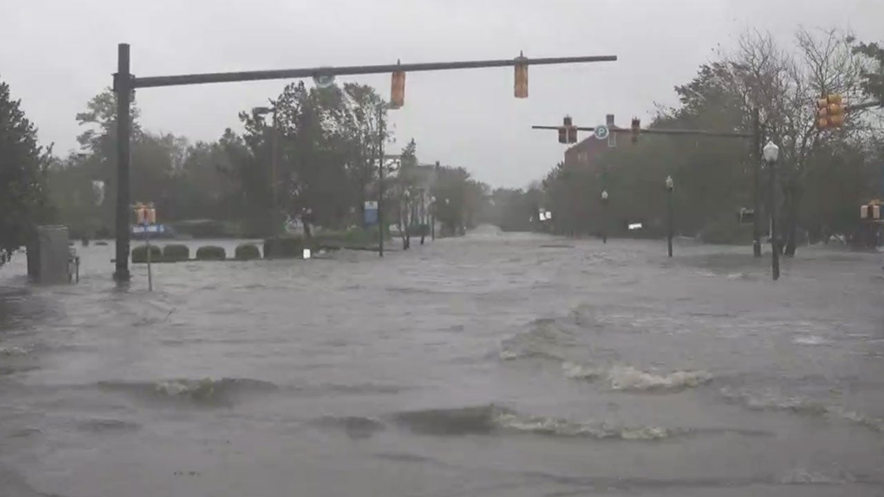 150 Trapped In Surge In New Bern Nc The Weather Channel