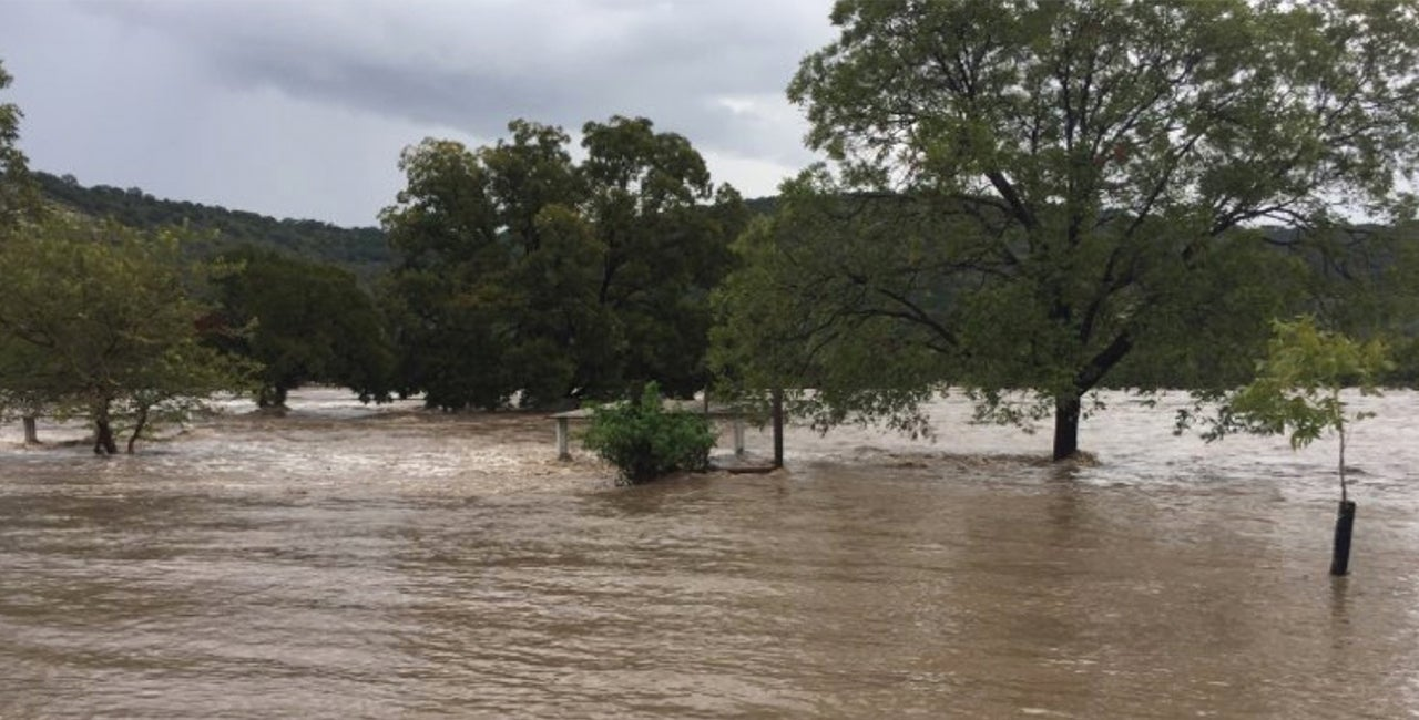 flooding wipes out rv park in west texas  triggering