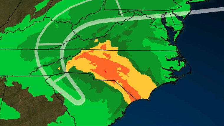 Florence's Catastrophic Flood Threat Continues From Carolinas to Western Virginia and West Virginia