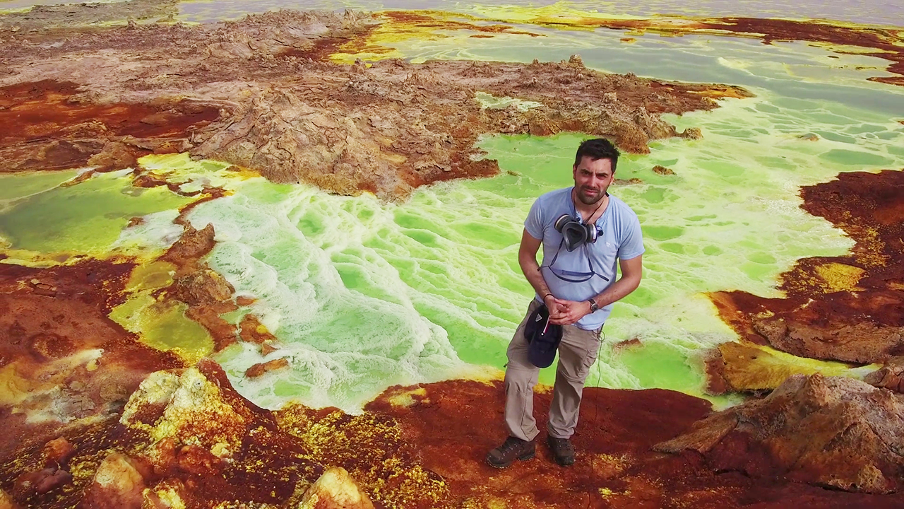 Ce chasseur de lave français nous raconte son « tour du monde des volcans »