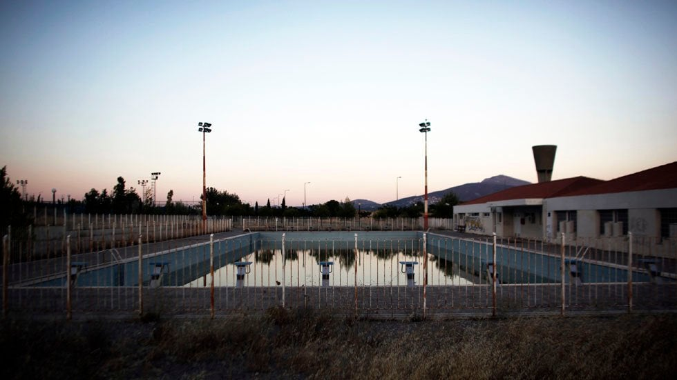 DIAPO Les sites abandonnés après les Jeux Olympiques