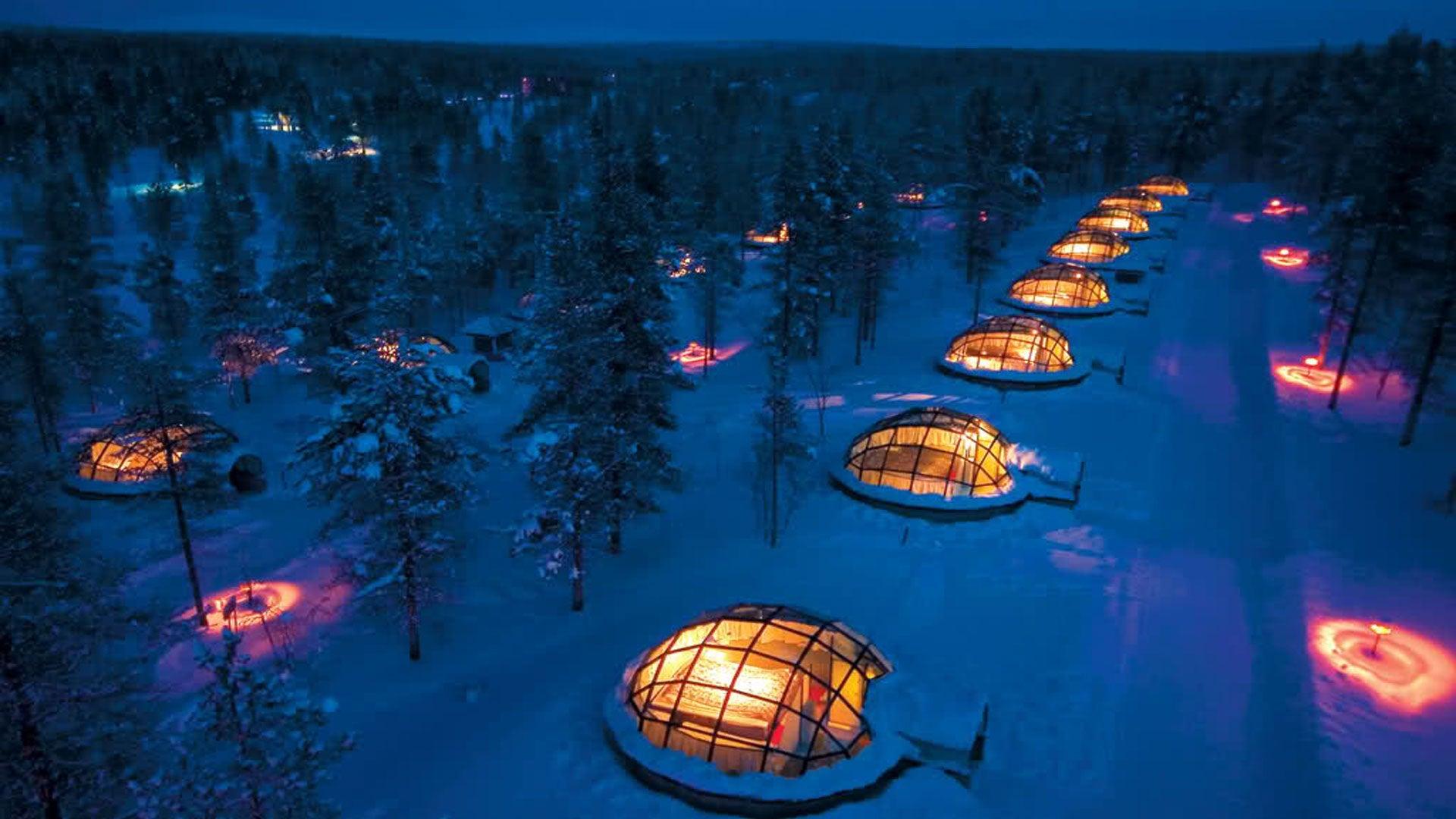 PHOTOS Voyage en Laponie, le pays du Père Noël