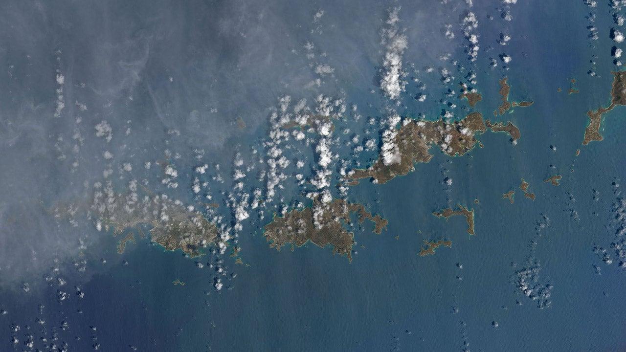 Catastrophes climatiques : les saisissants avant/après vus du ciel