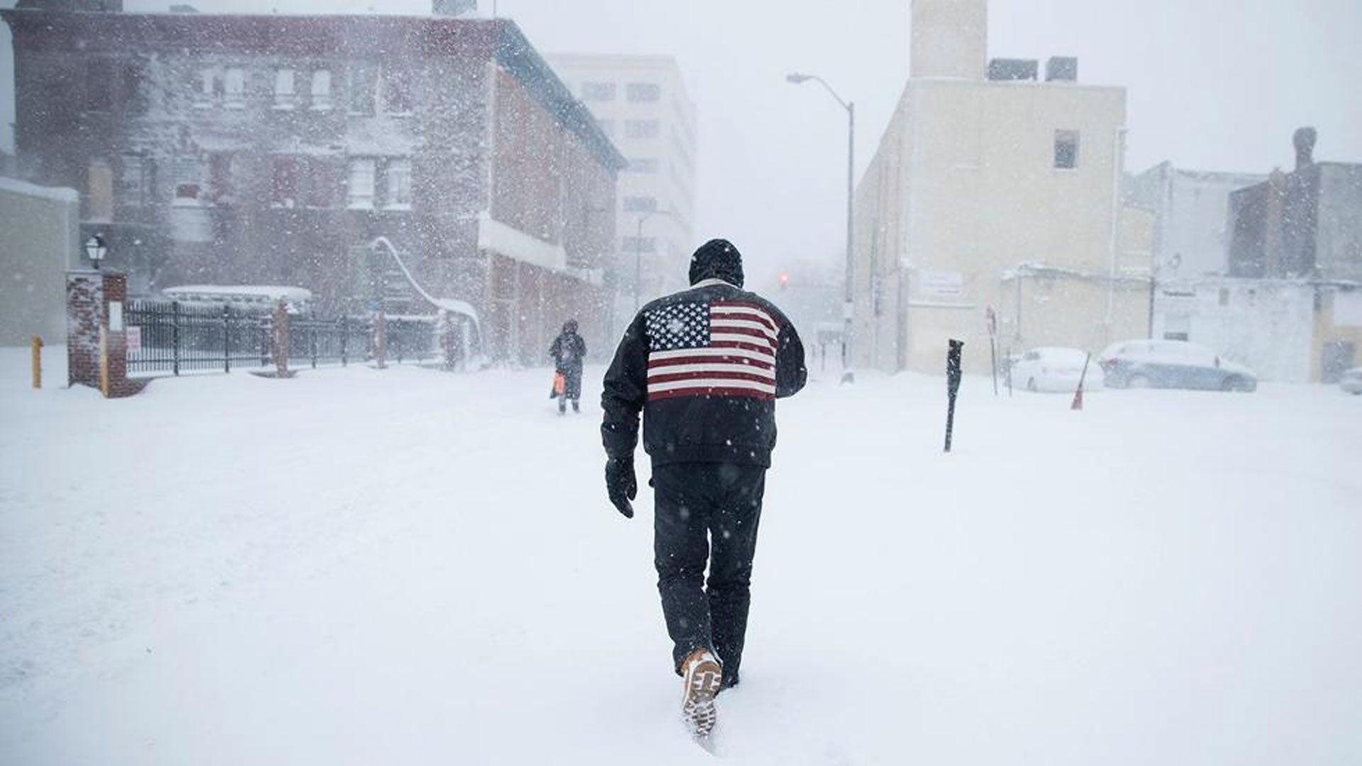 PHOTOS New York paralysée, la côte Est américaine sous la neige