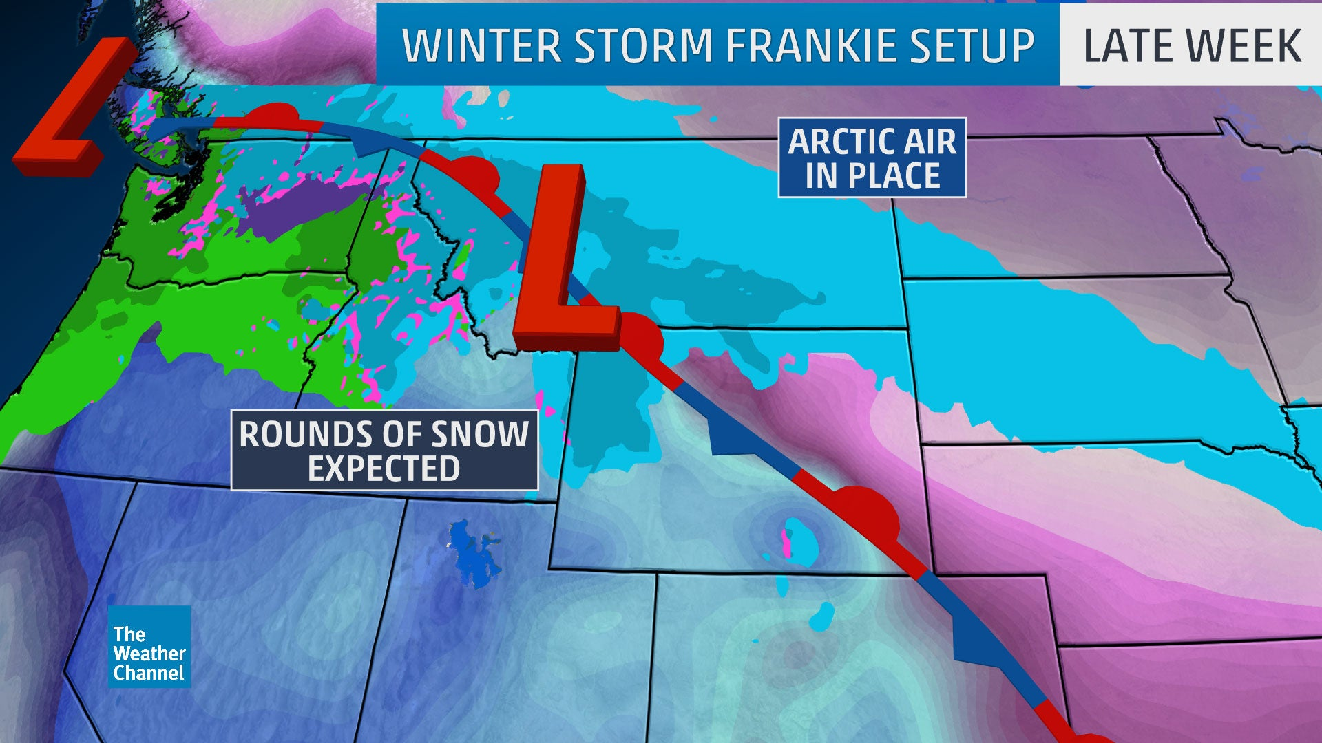 winter storm frankie dumps feet of snow in the northern rockies