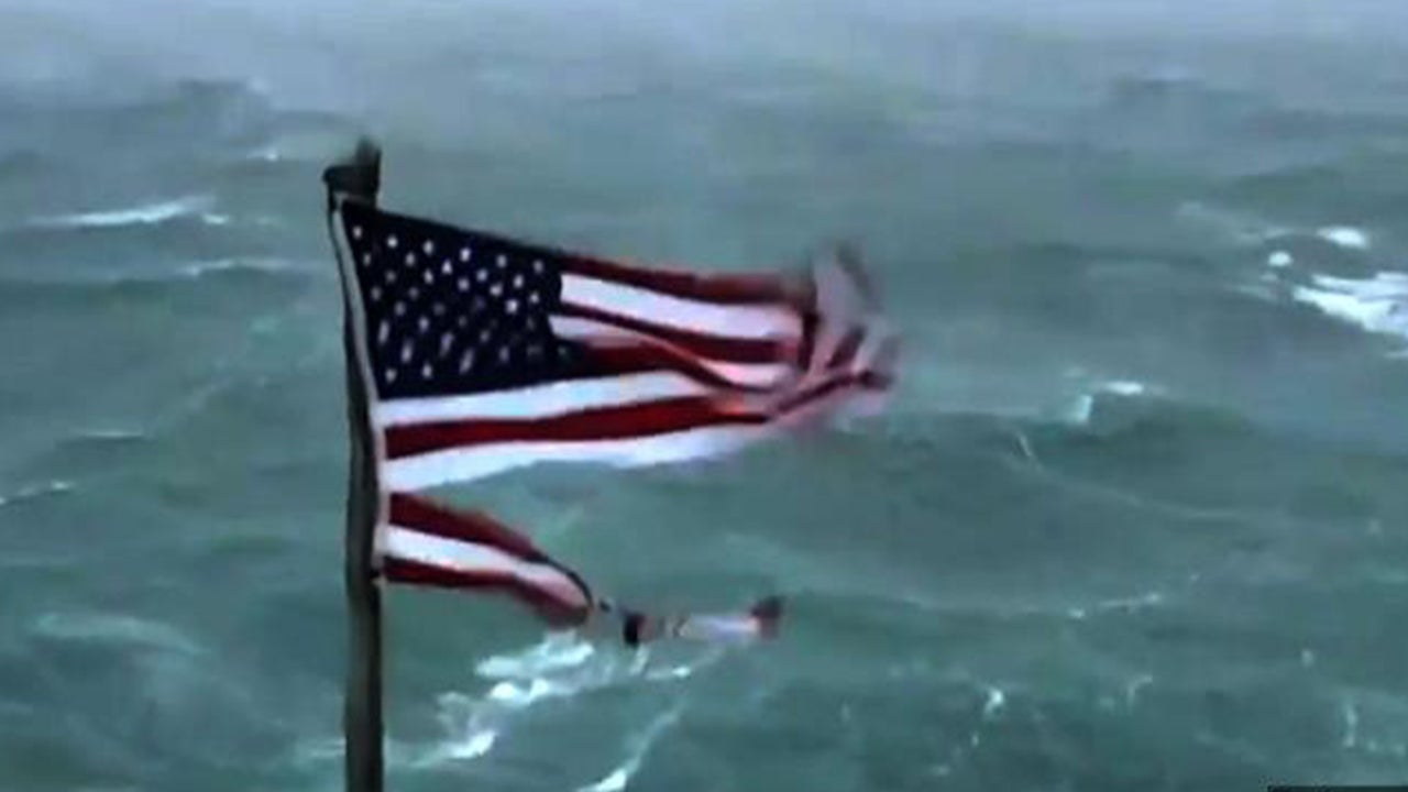 Frying Pan Tower Owner Hopes American Flag Ripped To