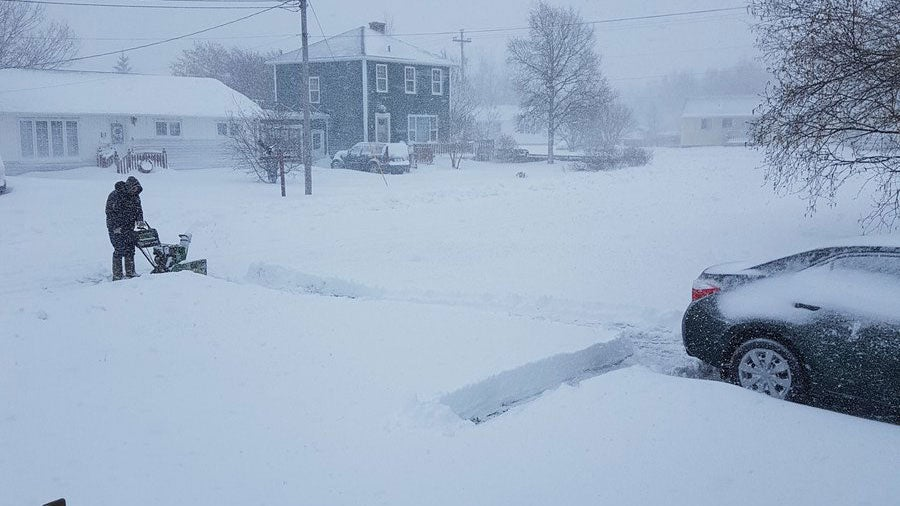 It's Still Snowing in Eastern Canada and More Snow Is ...