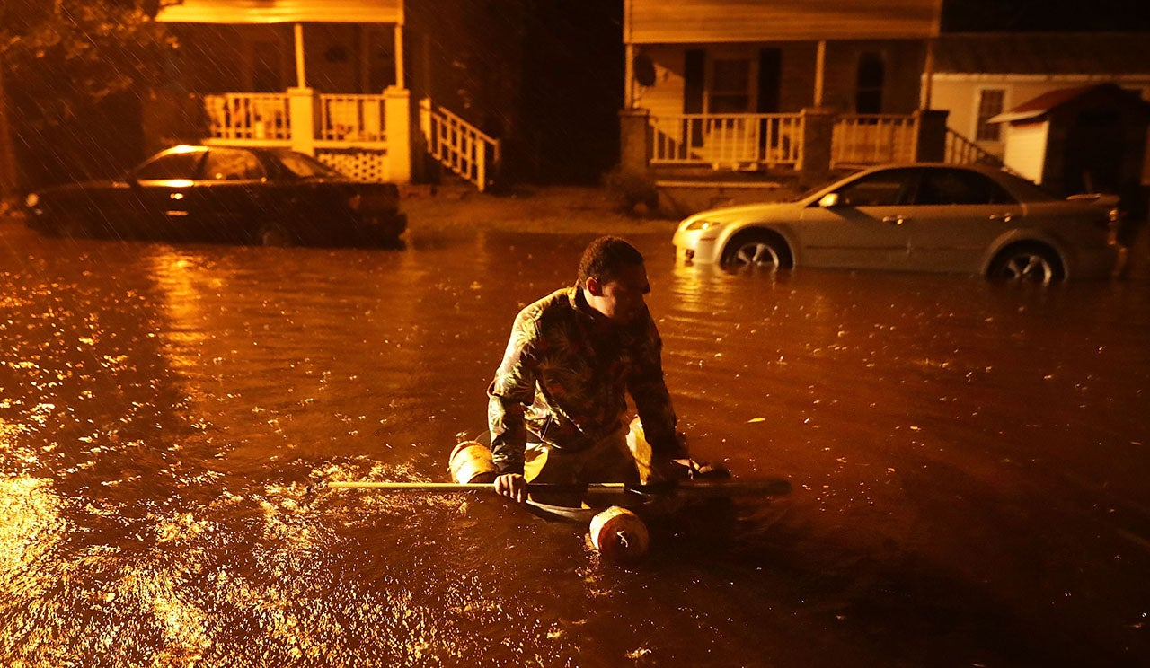 160,000+ Lose Power, Water Rescues Reported as Hurricane Florence Slams North Ca...