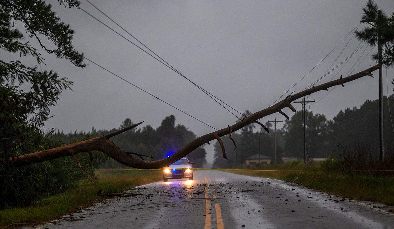 south carolina  florence claims its first fatality in the