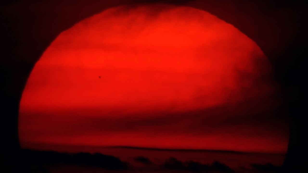 Photos of Mercury's Transit Across Sun