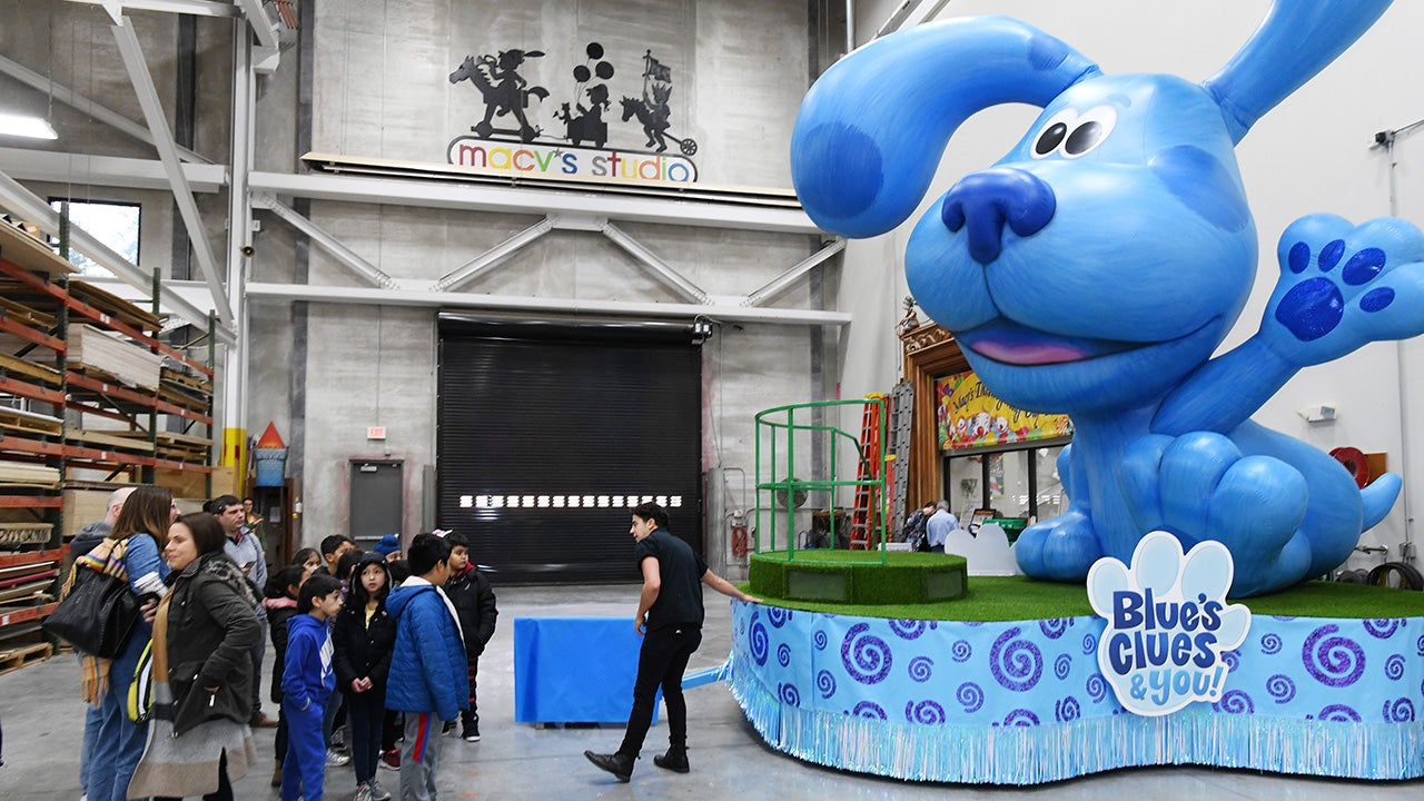 Sneak Peek of Floats in Macy's Annual Thanksgiving Day Parade (PHOTOS)