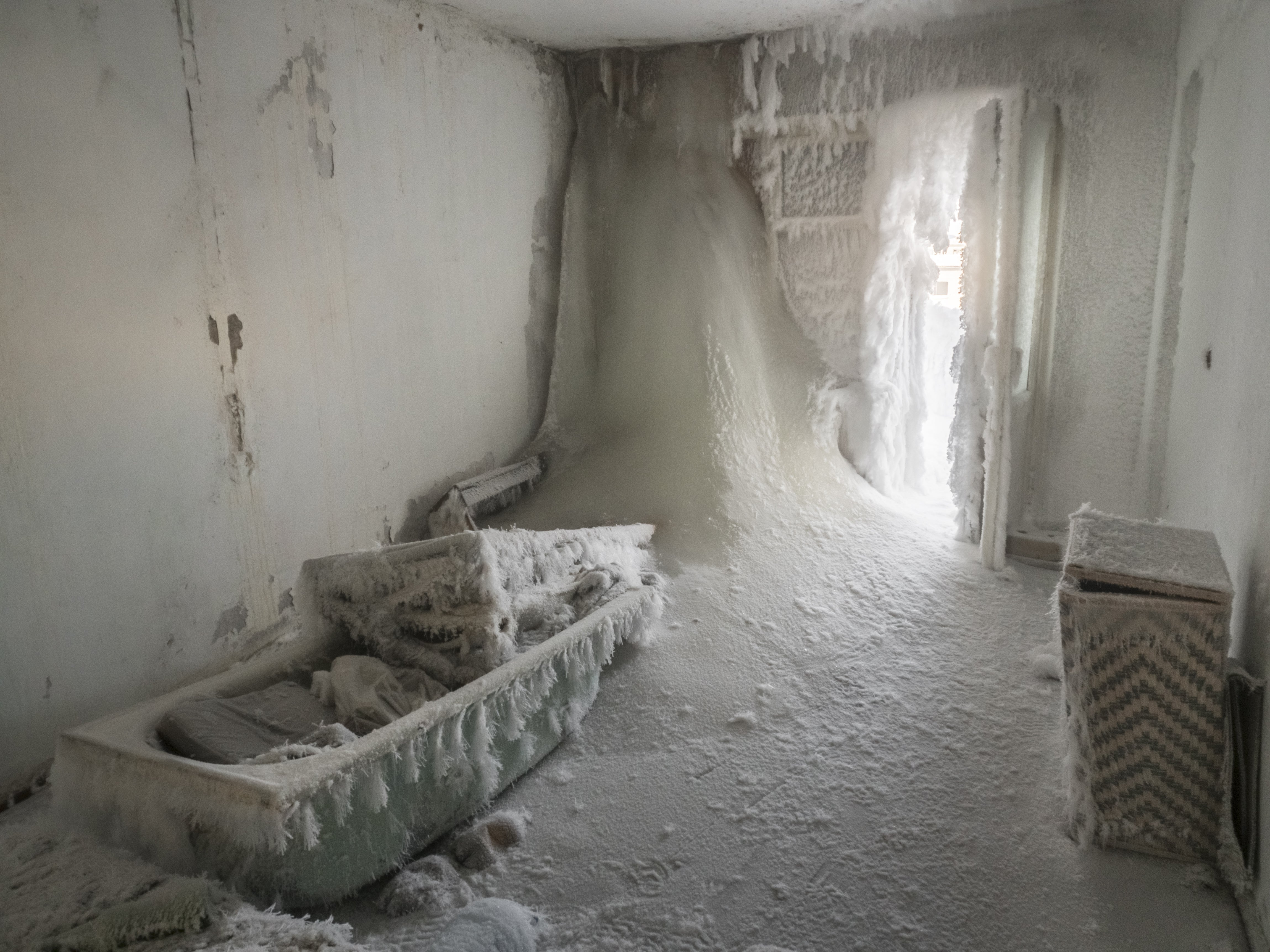 Russian Ghost Town: Eerie Photos Show Frozen Homes and Buildings in Vorkuta—Europe's Coldest City   The Weather Channel - Articles from The Weather Channel   weather.com