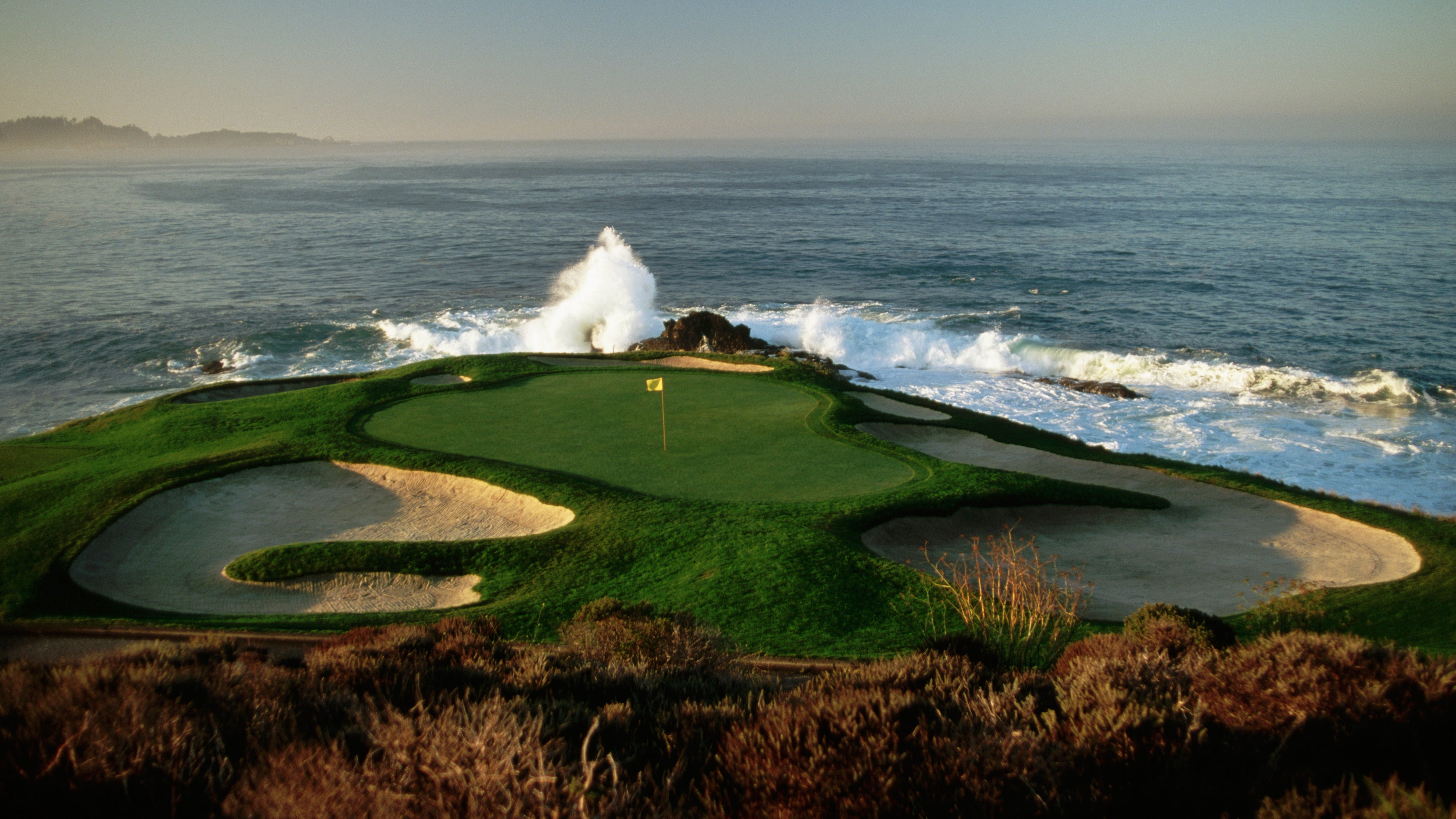 pebble beach joins golf ball cleanup efforts the weather channelpebble beach joins golf ball cleanup efforts
