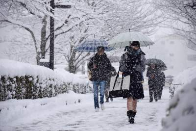 Ocean Effect Snow Makes Japan the Snowiest Place on Earth