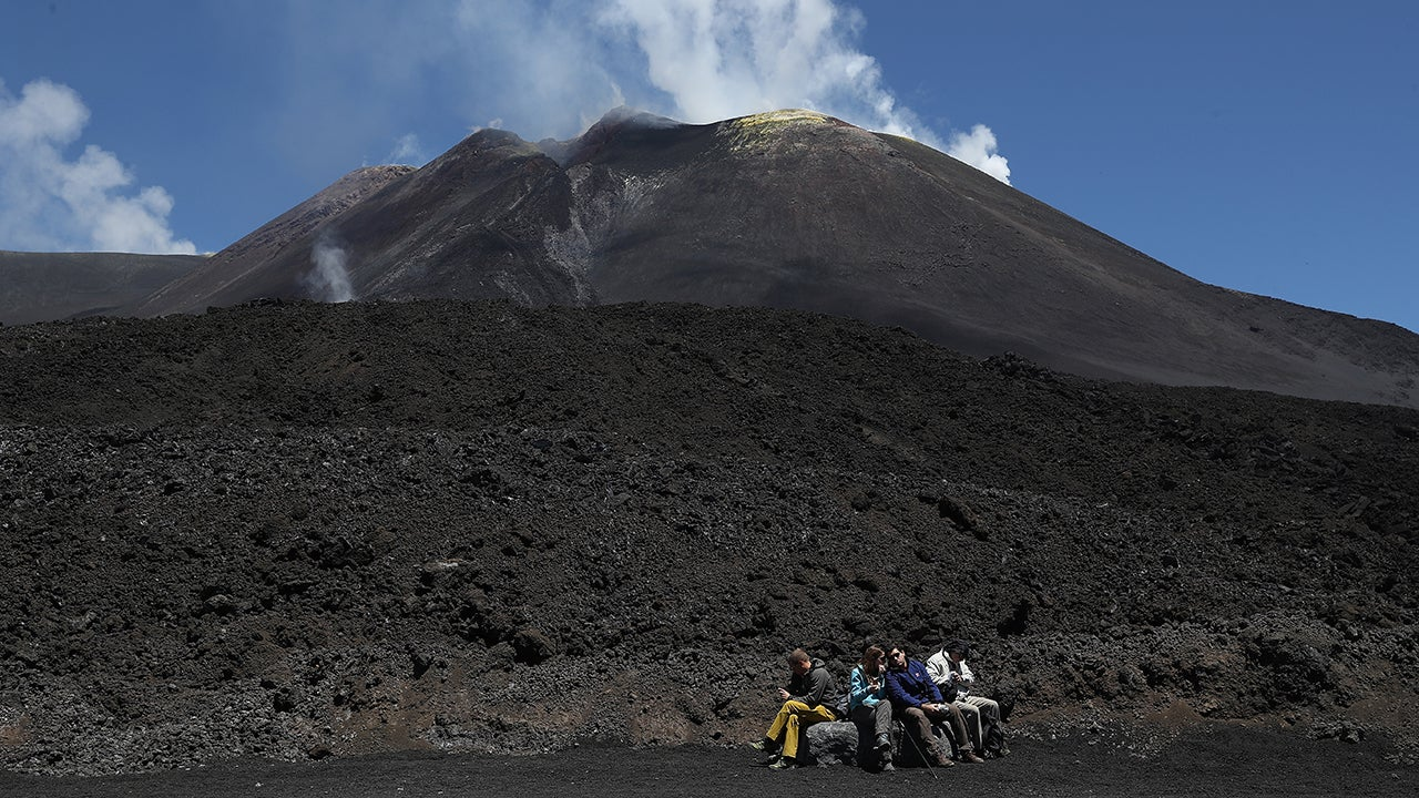 Gravity Is Pulling Mount Etna Into the Sea and That Could Cause Tsunamis