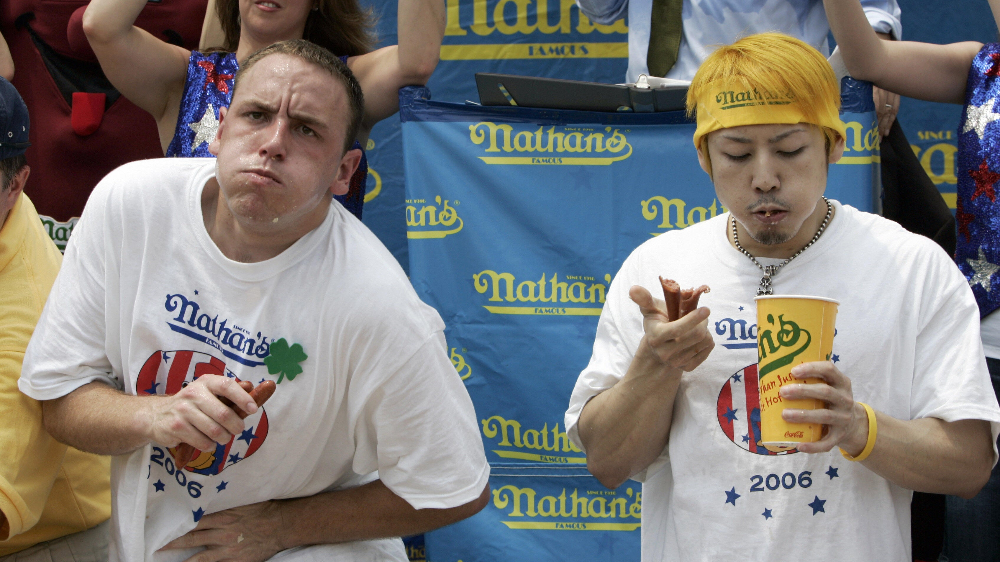 Nathan's Famous Hot Dog Eating Contest Through the Years