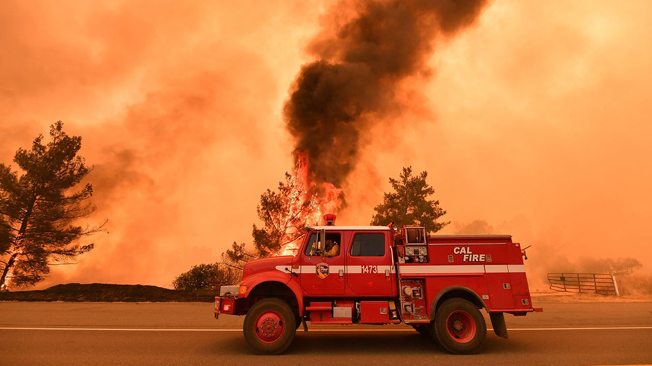 Fast-Moving County Fire Burns 50 Square Miles in Northern California, Evacuations Ordered (PHOTOS)