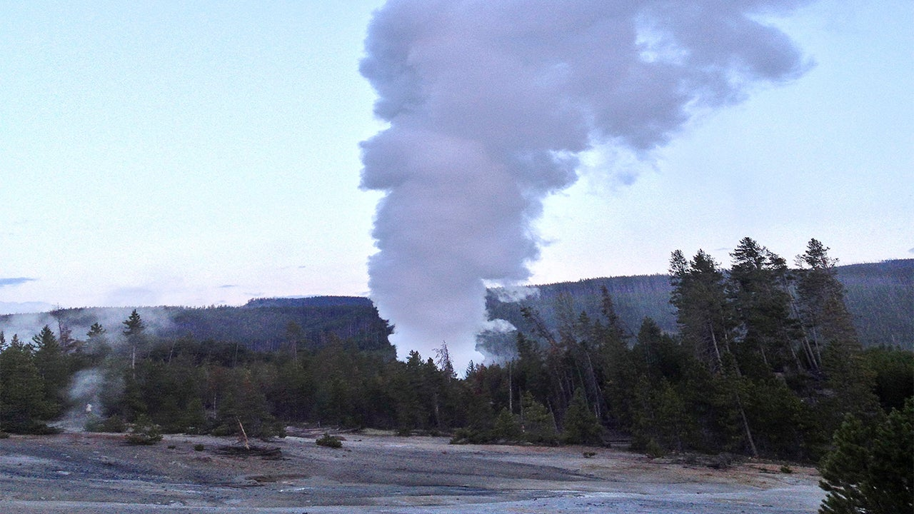 Series of Potential Eruptions at Yellowstone