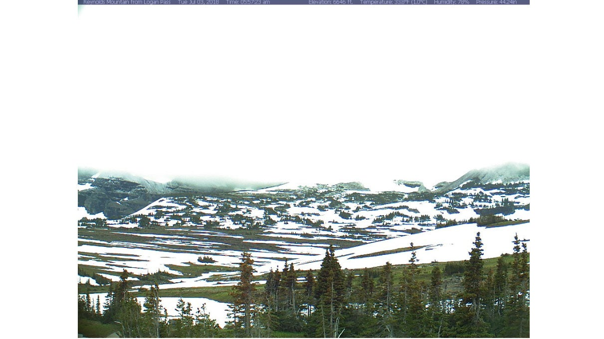 Snow Blankets Parts of the Northern Rockies Days Before July Fourth