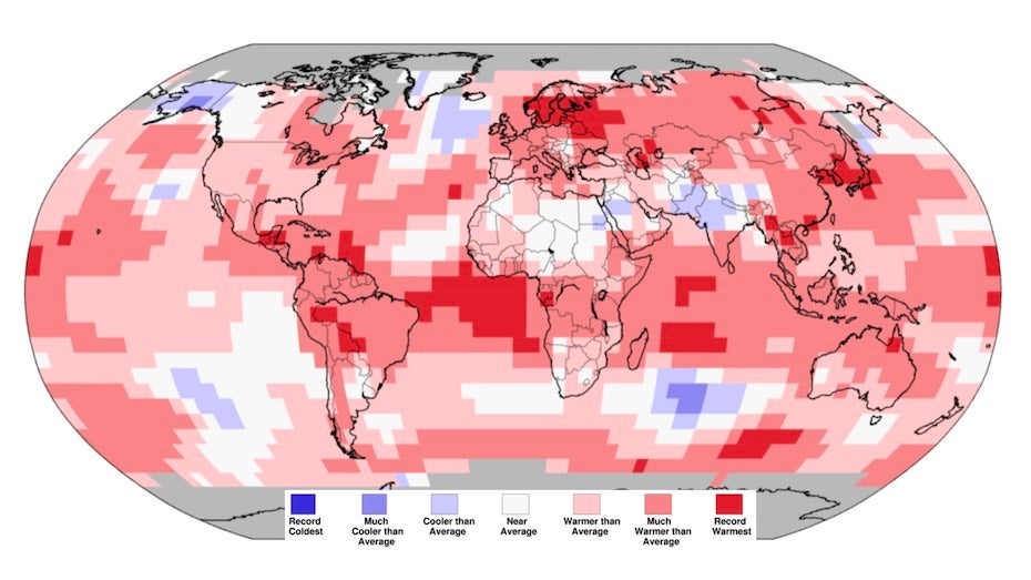 Earth's Warmest January on Record