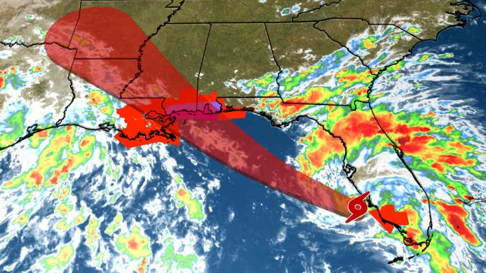 Tropical Storm Gordon Expected to Become a Hurricane in the Gulf of Mexico; Hurr...