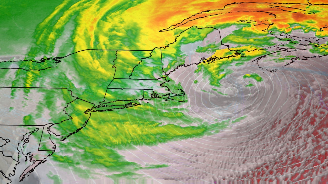 Winter Storm Grayson\'s Bombogenesis Brought Whiteout Conditions From ...