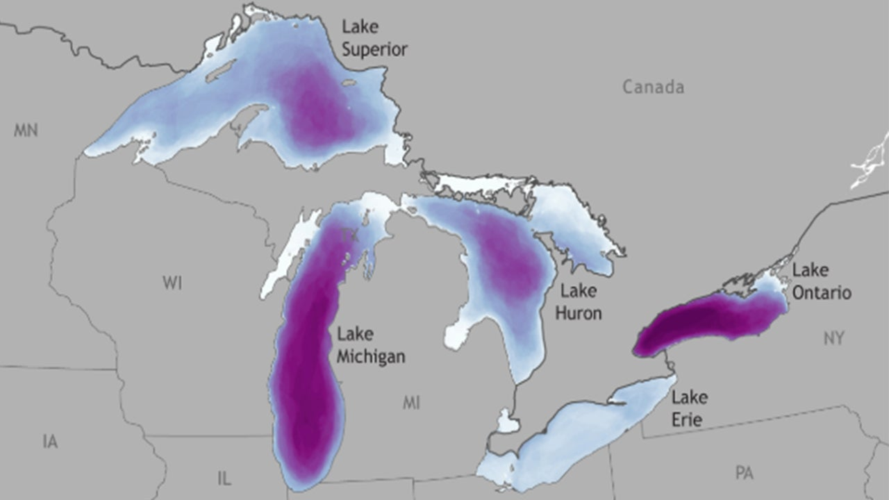 Troubling Trend Since 1970s For Great Lakes