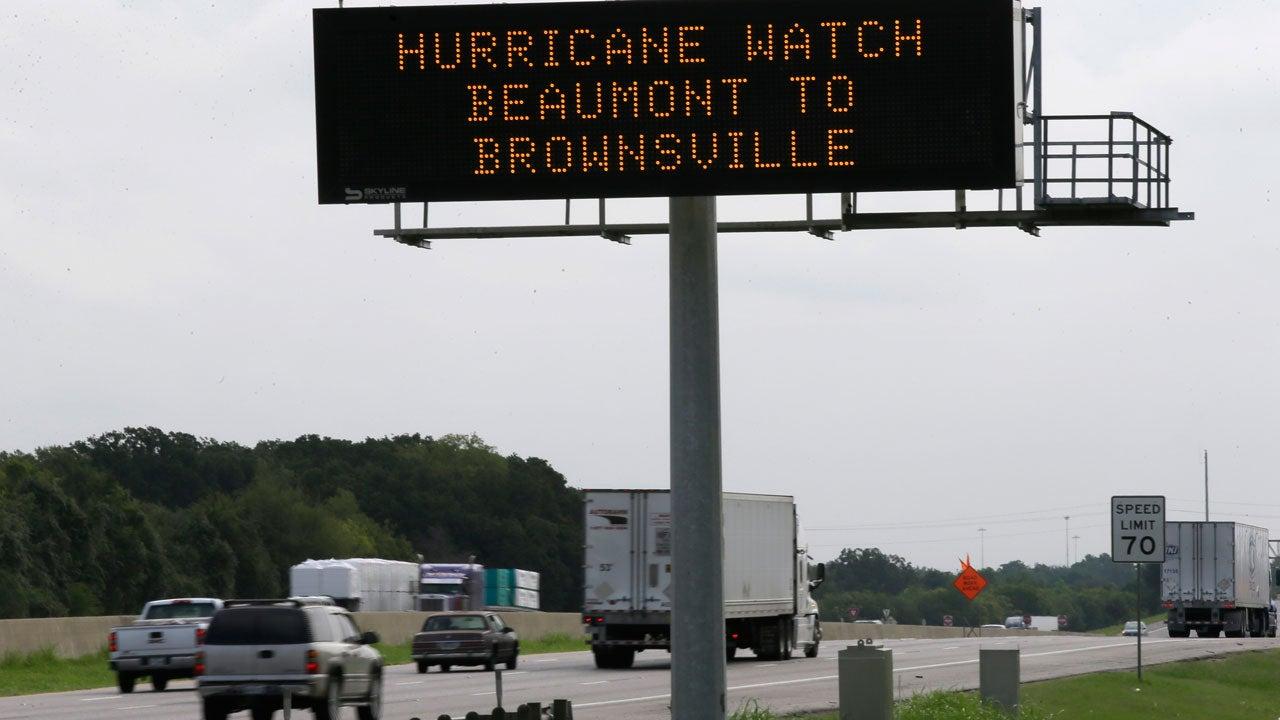 hurricane harvey  widespread evacuations ordered in texas