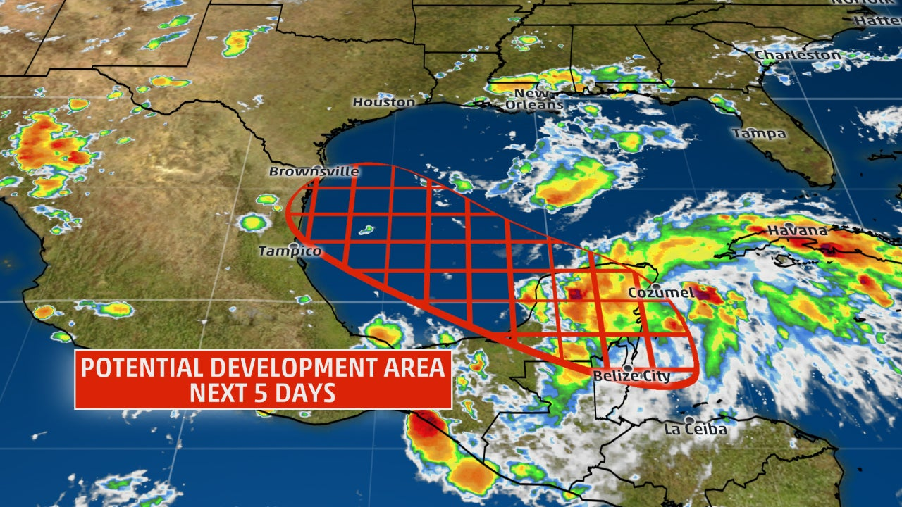 Harvey Likely To Come Back To Life In Bay Of Campeche