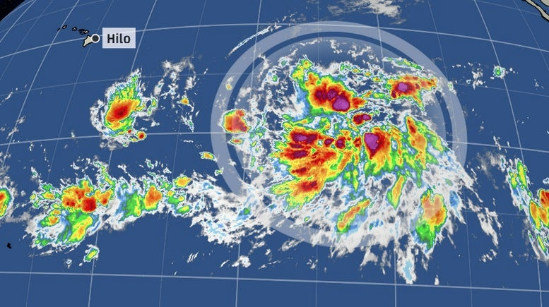 a tropical storm threat for hawaii