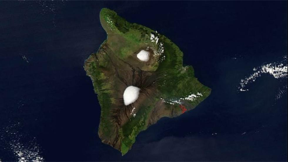 hawaii snow  a foot or more expected on the big island u0026 39 s